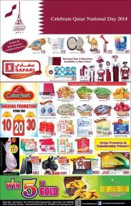 Safari National Day Promo 17 12 2014 Qatar I Discounts