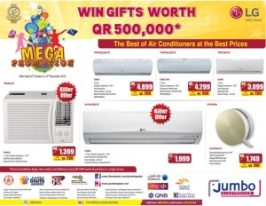 Jumbo electronics more mega offers 28 10 to 15 11 qatar i discounts - Jumbo mobel discount ...