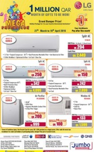 Jumbo electronics air conditioner offers 27 03 to 16 04 qatar i discounts - Jumbo mobel discount ...