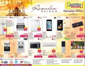 Jumbo electronics ramadan offers 29 05 to 30 06 qatar i - Jumbo mobel discount ...
